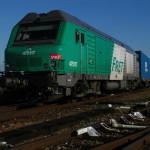 Az első vonat érkezése (Vesoul - Kaluga)