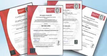 FM Logistic, Szigetszentmiklós,minőségirányítási rendszer, élelmiszerbiztonsági rendszer, munkabiztonsági rendszerek