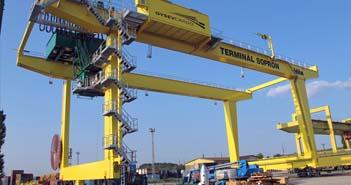 portáldaru, GYSEV Cargo, Intermodális Logisztikai Szolgáltató Központ ,sopron