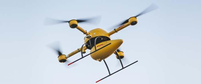 Csomagszállítás drón