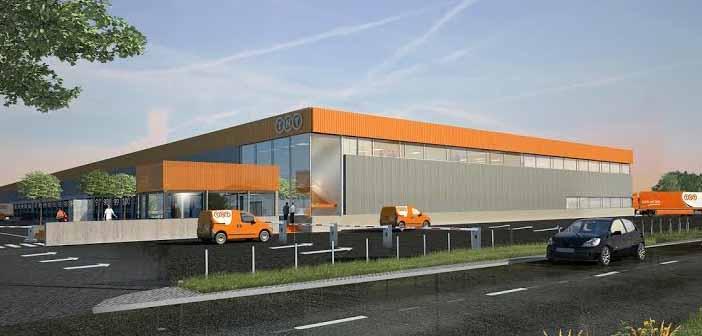 TNT, Eindhoven. logisztikai központ