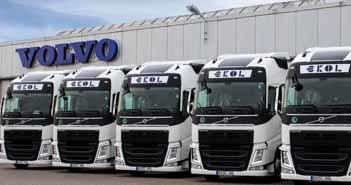 Ekol magyarországi flottabővítés – újabb Volvo szerelvények