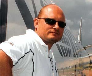 Maurizio Bartolomei a DHL WTCC logisztikájáért felelős vezetője