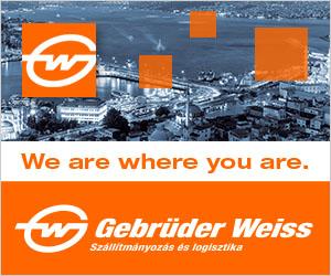 Szállítmányozás és logisztika - Gebrüder Weiss