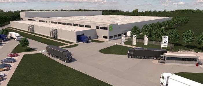 BMW Logisztikai központ