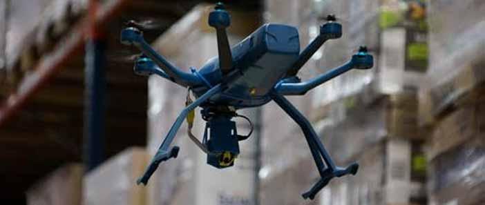 Eyesee, a leltárkészítő drón