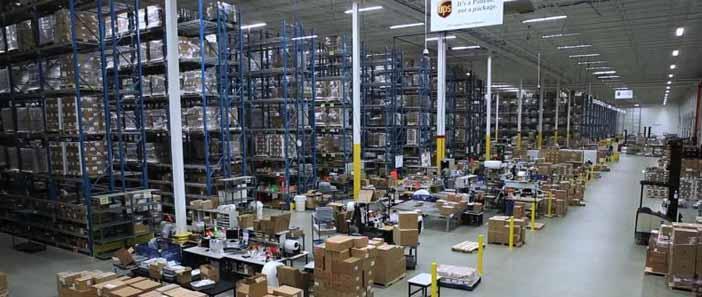 A UPS kibővíti az orvosi segédeszközipart kiszolgáló területi készletraktárait Európa szerte