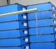 Egymásba rakható műanyag dobozok