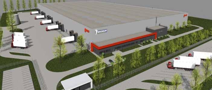 Logisztikai raktárat épít a Révész-Nyírlog Kft.