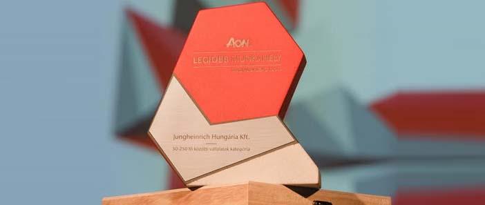 Jungheinrich Hungária Kft. nyerte a Legjobb Munkahely címet