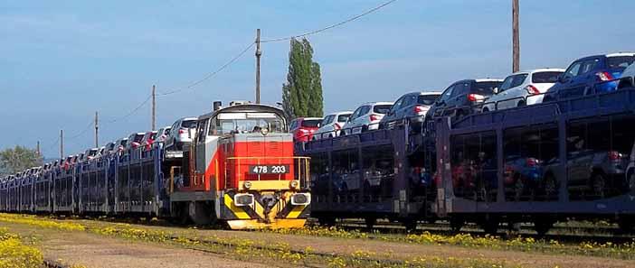 A Rail Cargo Hungaria 4000. Suzuki irányvonata