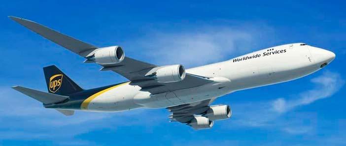 A UPS 14 új 747-8f teherszállítót vásárol