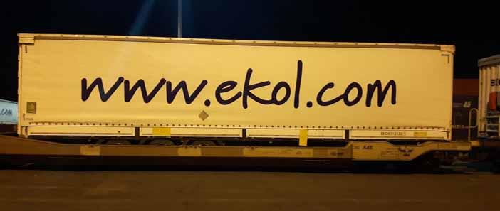 Az Ekol Logistics növekedési stratégiájának eredményeként bővíti az intermodális csatlakozások számát Európában. Ennek megfelelően, a cég egy új irányvonatot indít az olaszországi Trieszt és a németországi Kiel között. Az Ekol nemcsak vasúti, hanem egy tengeri vonalat is kialakít Kiel és Göteborg (Svédország) között, melyet a Stena Line-nal közösen valósít meg. A 2017 január 25-én induló szolgáltatás lesz az első vasúti kapcsolat a triszti kikötő és a balti-adriai csatorna között.