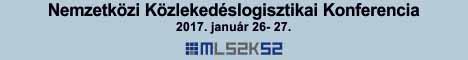 Közlekedéslogisztikai Konferencia - 2017. január 26-27. Velence