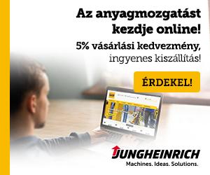 Jungheinrich - Targoncák, raktári állványok, targoncabérlet, teljes körű szerviz és alkatrészellátás.