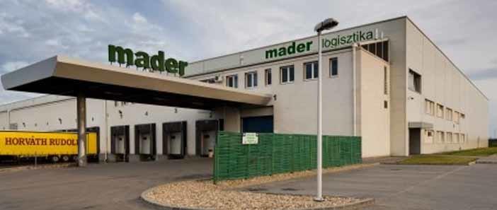 A Mader Logisztikai Kft. az év vállalkozása Hatvanban