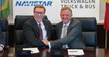 Volkswagen Truck & Bus GmbH és a Navistar stratégiai együttműködése