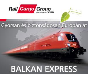 Vasúti árufuvarozás és logisztika