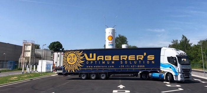 Waberer's: Profitálhatnak a közúti fuvarozók a Shell LNG kúthálózatának terjeszkedéséből