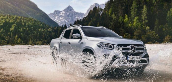 Continental abroncsokkal szerelik a Mercedes-Benz új pick-upját