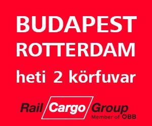Budapest-Rotterdam, vasúti árufuvarozás és logisztika