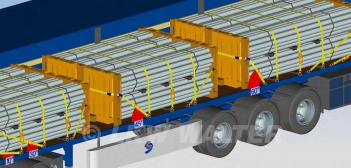 Ki felelős a teherautó rakományrögzítéséért?