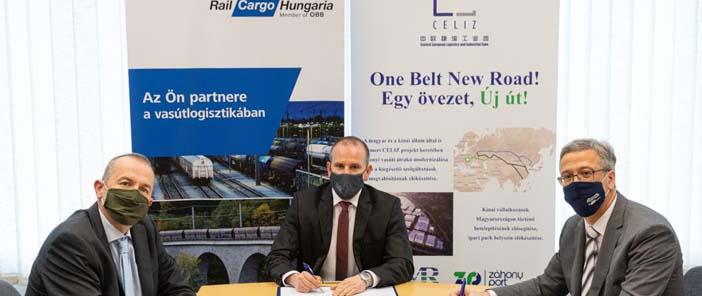 Megerősítette a záhonyi intermodális forgalmak növelésével kapcsolatos szándékait a CELIZ Konzorcium és a Rail Cargo Hungaria
